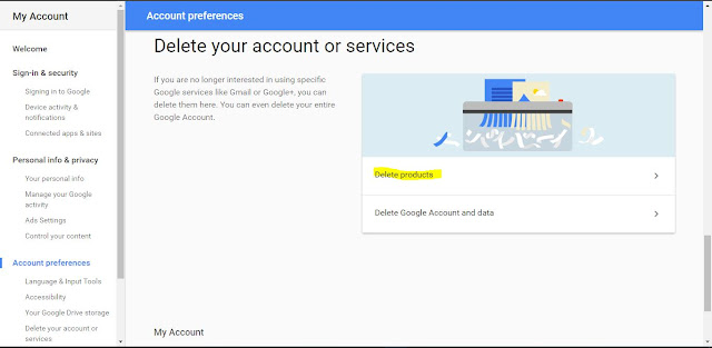 How to Delete Your Google Product