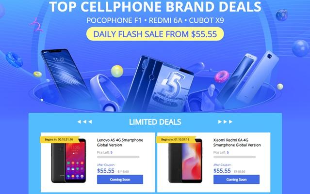 ▷¡Hazte con tu Smartphone Favorito por Solo $55,55 en esta Oferta Limitada de GearBest!