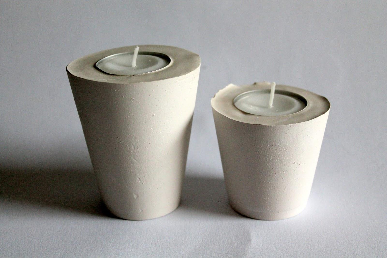 diy gips beton teelichthalter herz diycarinchen. Black Bedroom Furniture Sets. Home Design Ideas