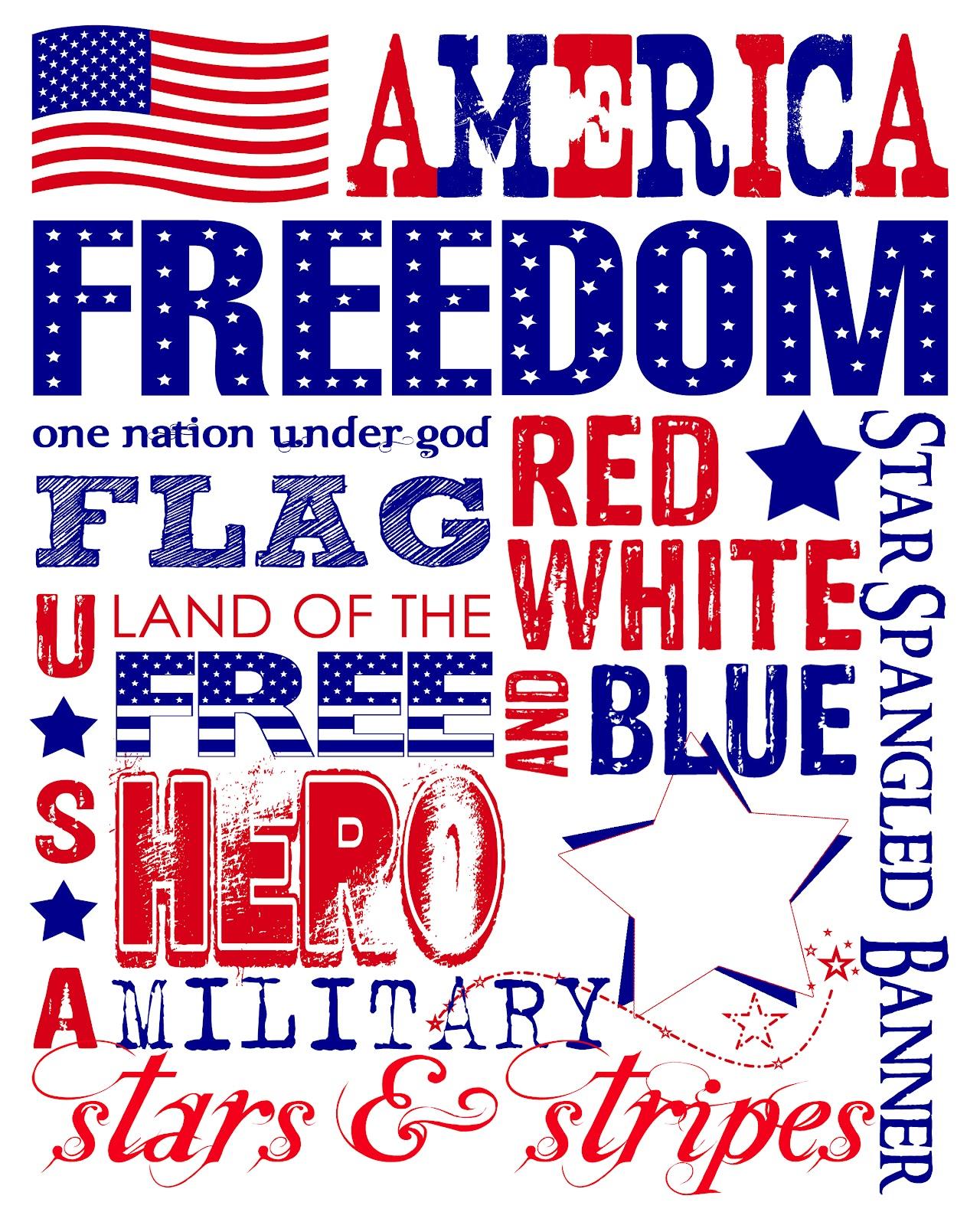 The Perfect Card Free Printable Patriotic Subway Wall Art