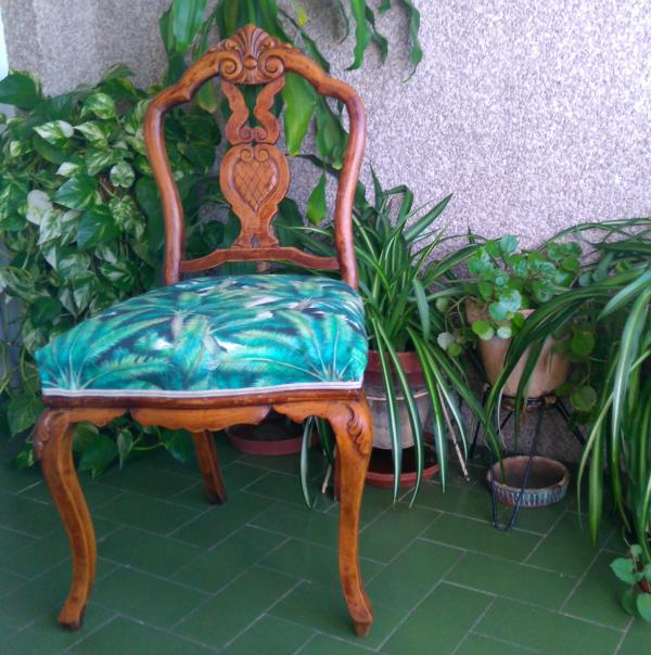Cómo transformar una silla de antigua a moderna