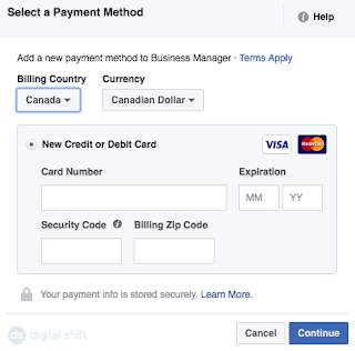 How To Create A Facebook Ad Account Step 6