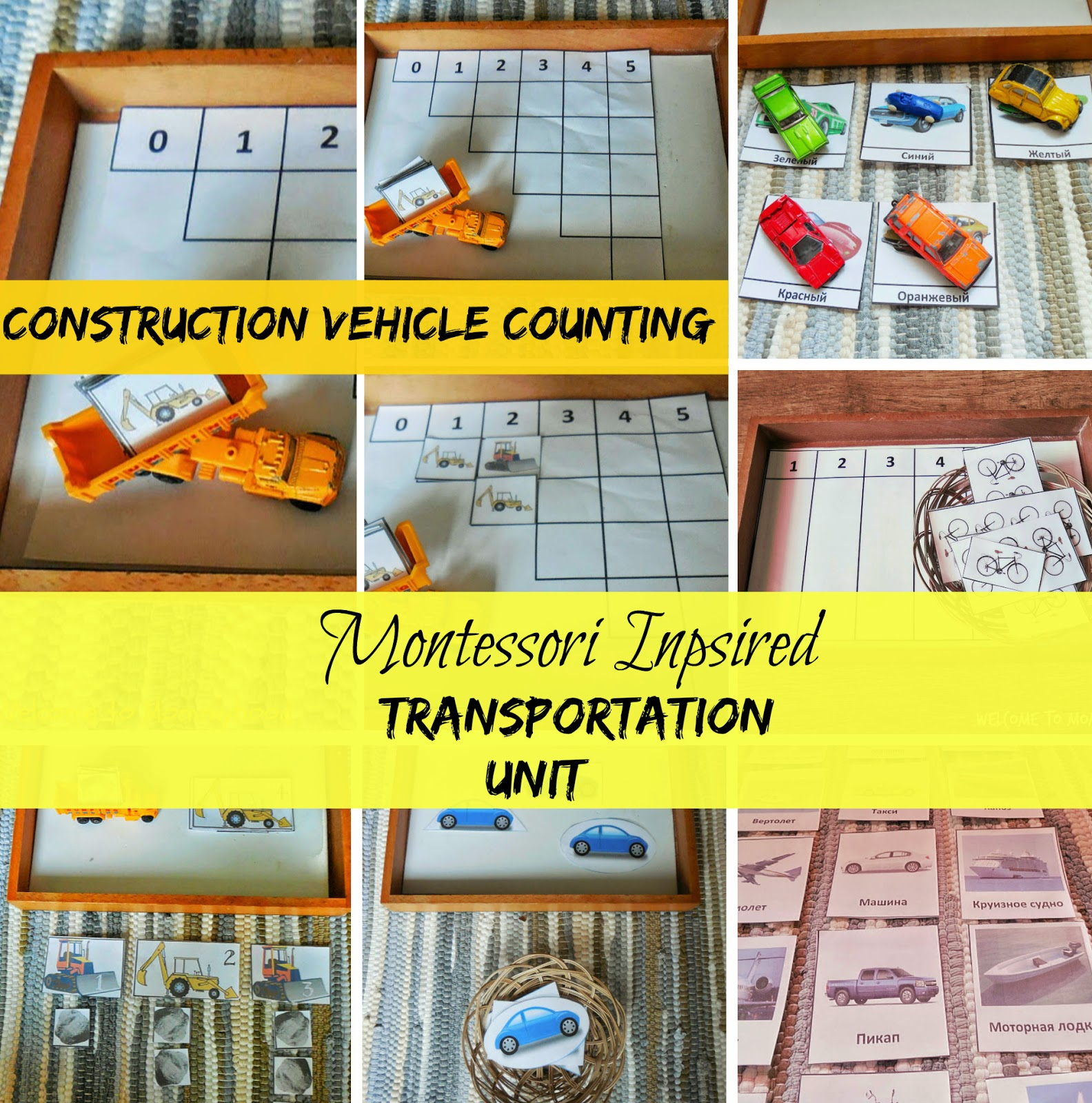 Welcome To Mommyhood Tot School Transportation Theme Iii And Math Printables