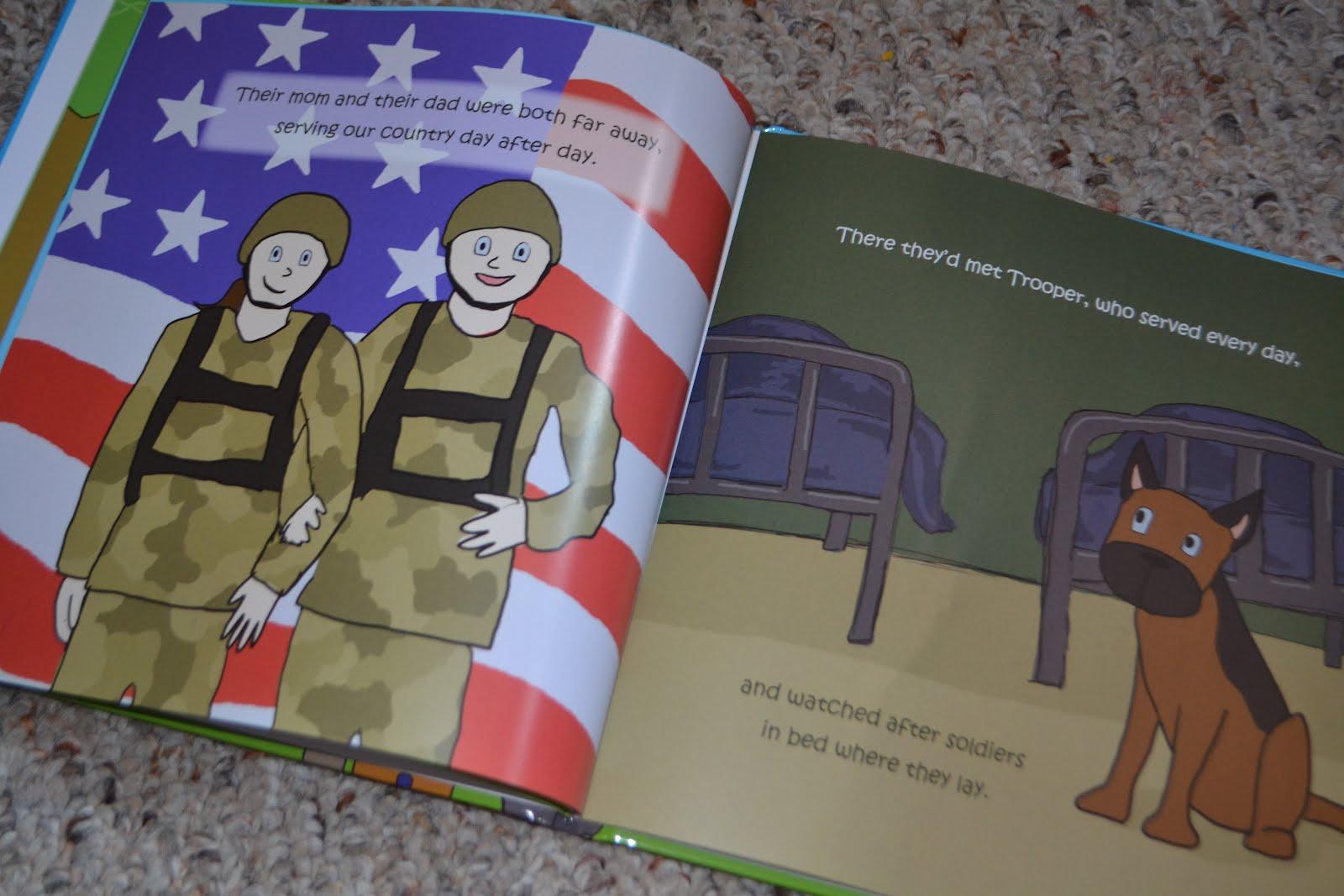 Military i love me book