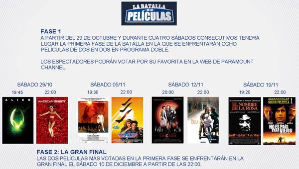La Batalla de las Peliculas 2016 (Paramount Channel)