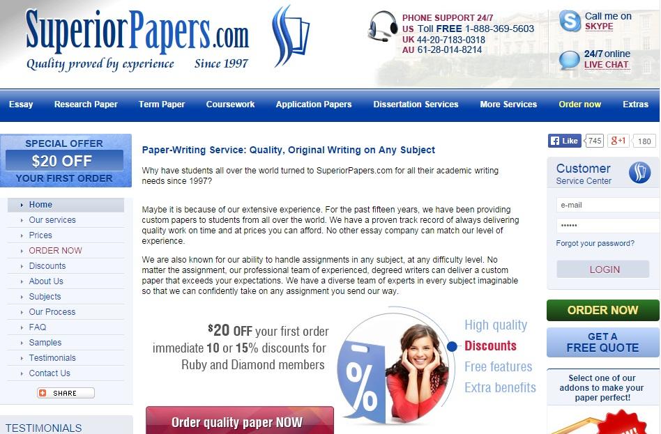 Term paper service reviews