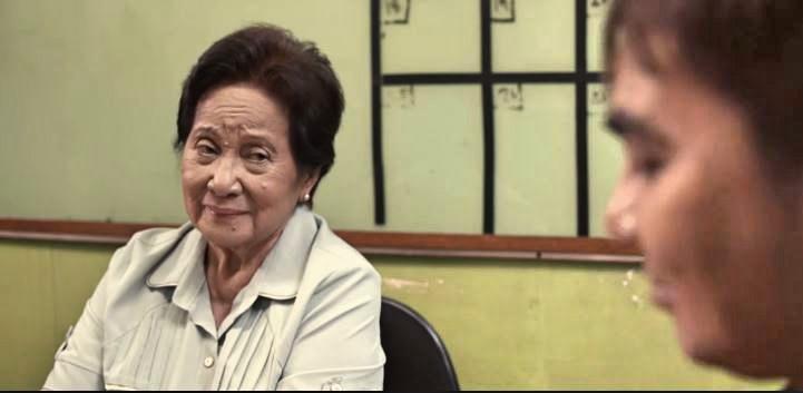 Maestra Bautista with Dr. Carl Balita