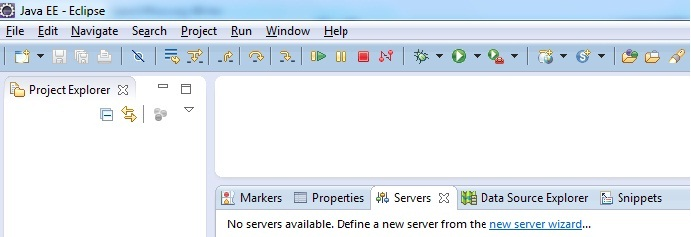 showing how to configure , add or install apache tomcat server in eclipse
