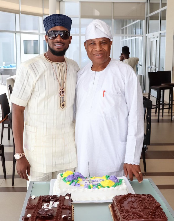 D'banj Celebrates His Father As He Turns 70 (PHOTOS)