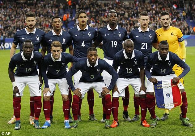 Skuad Timnas Prancis Euro 2016