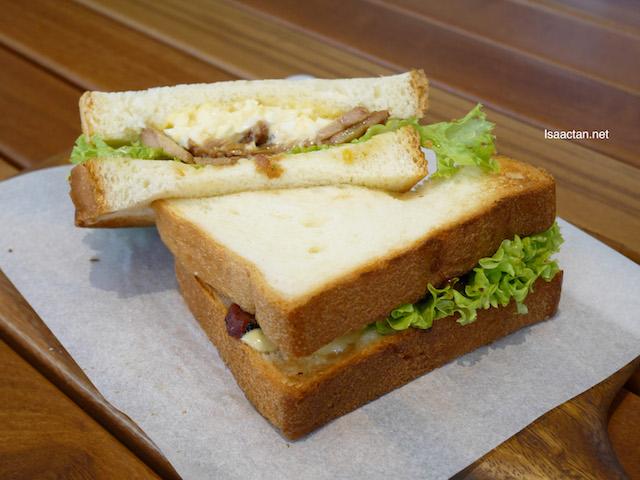 Teriyaki Chicken & Tamago Sandwich - RM13