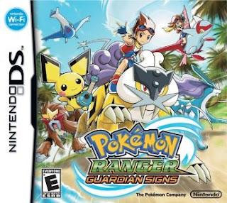 Pokemon Rangers: Trazos de Luz, NDS, Español, Mega, Mediafire