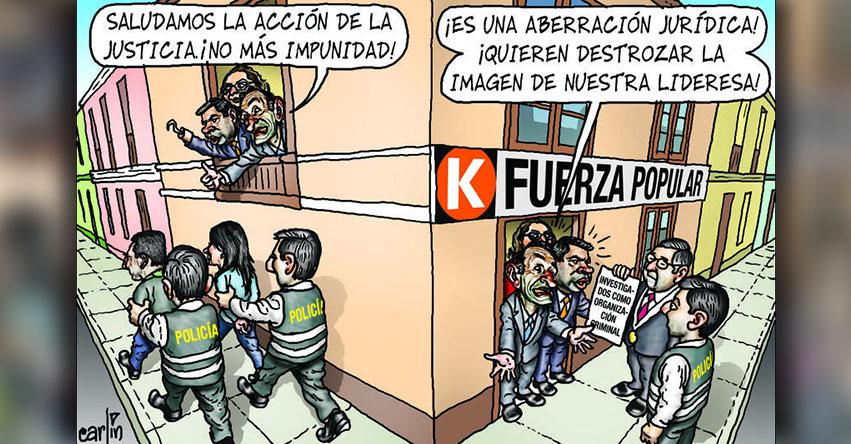 Carlincaturas Sábado 7 Octubre 2017 - La República