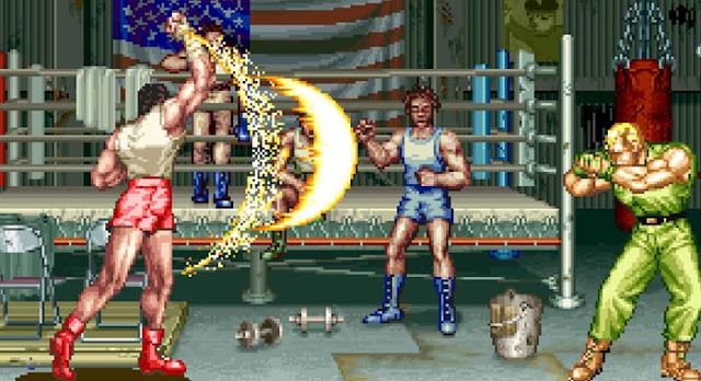 art of fighting 2 mickey rogers