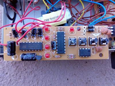 placa da Nitrix N-450 sequencial de audio e video