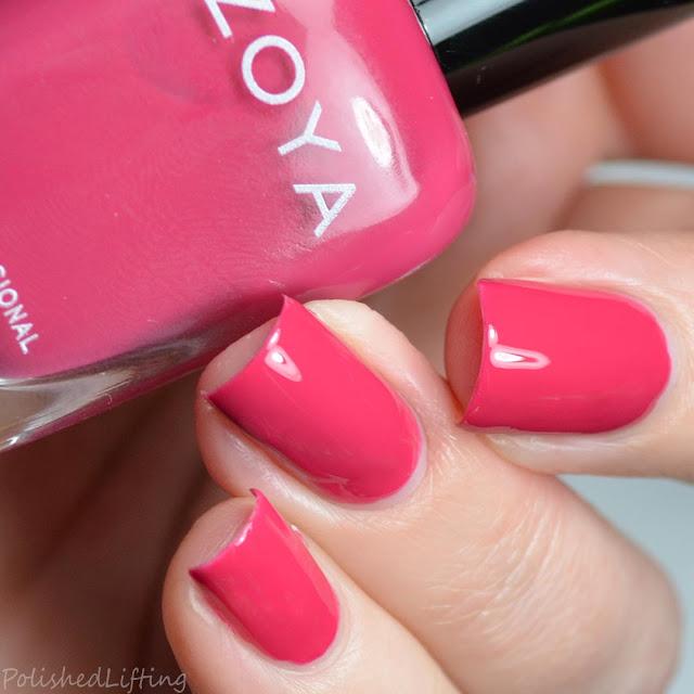 rich pink nail polish