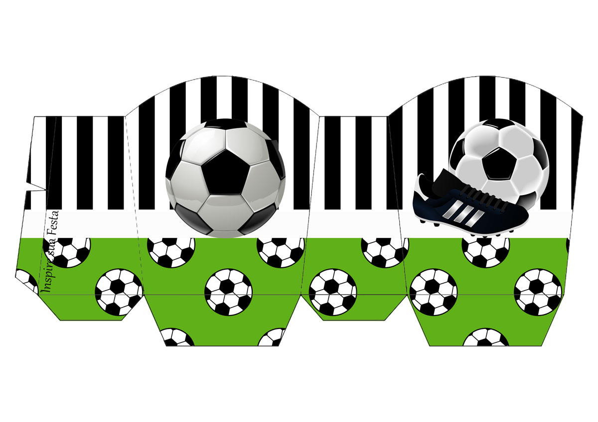 photograph regarding Soccer Printable known as Football Fixed: Free of charge Printable Invites and Bins for Get-togethers