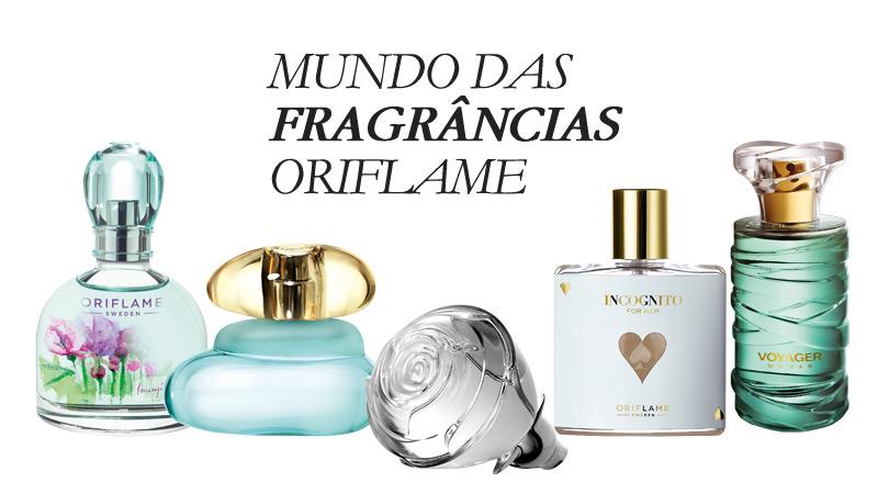 O Fabuloso Mundo das Fragrâncias Oriflame