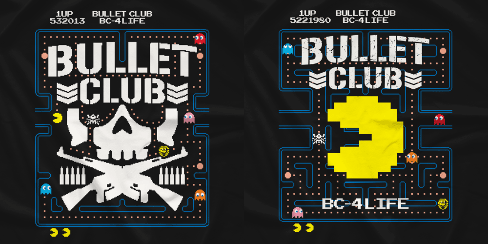 The Blot Says Bullet Club Vs Pac Man T Shirt Collection By New