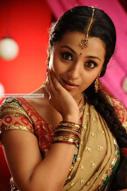 Hot Indian Actress Rare Hq Photos Tamil Actress Trisha -5366