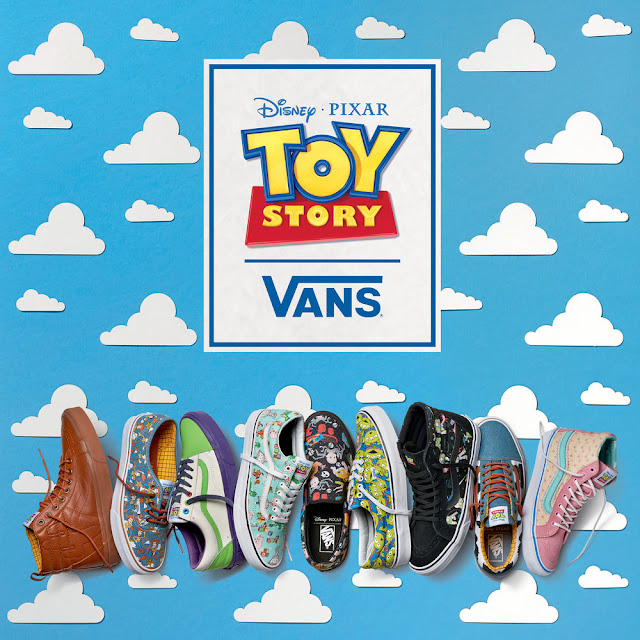 Vans X Disney Pixar Toy Story Collection Official