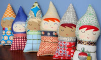 Warm sugar lappenpoppen voor kleine meisjes