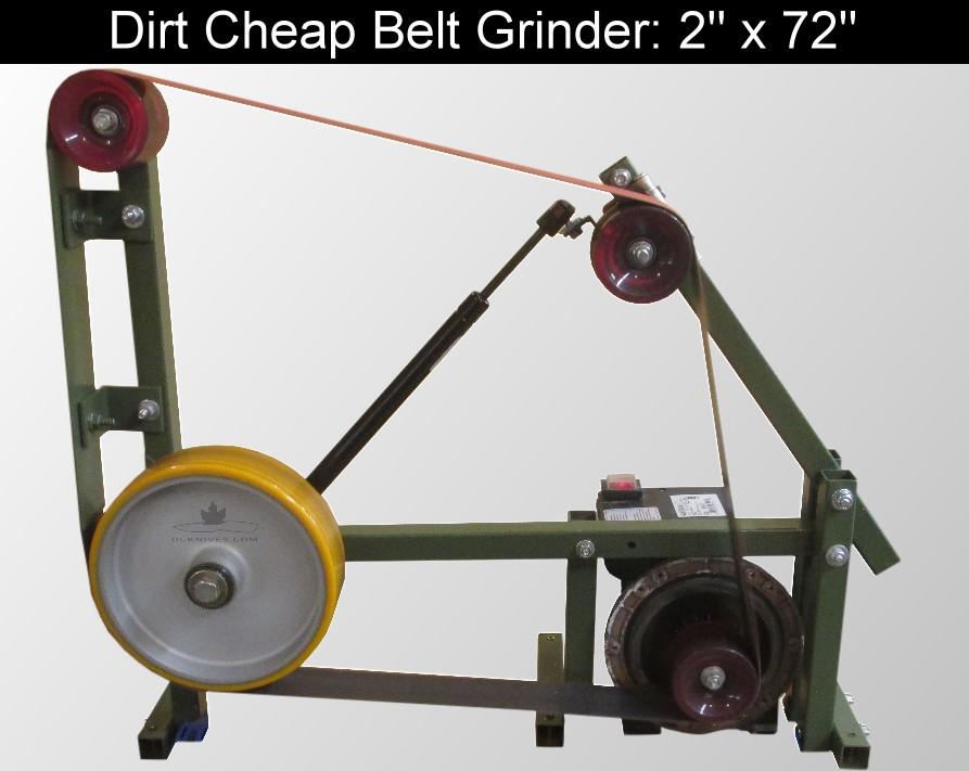 Knife making belt sander cheap