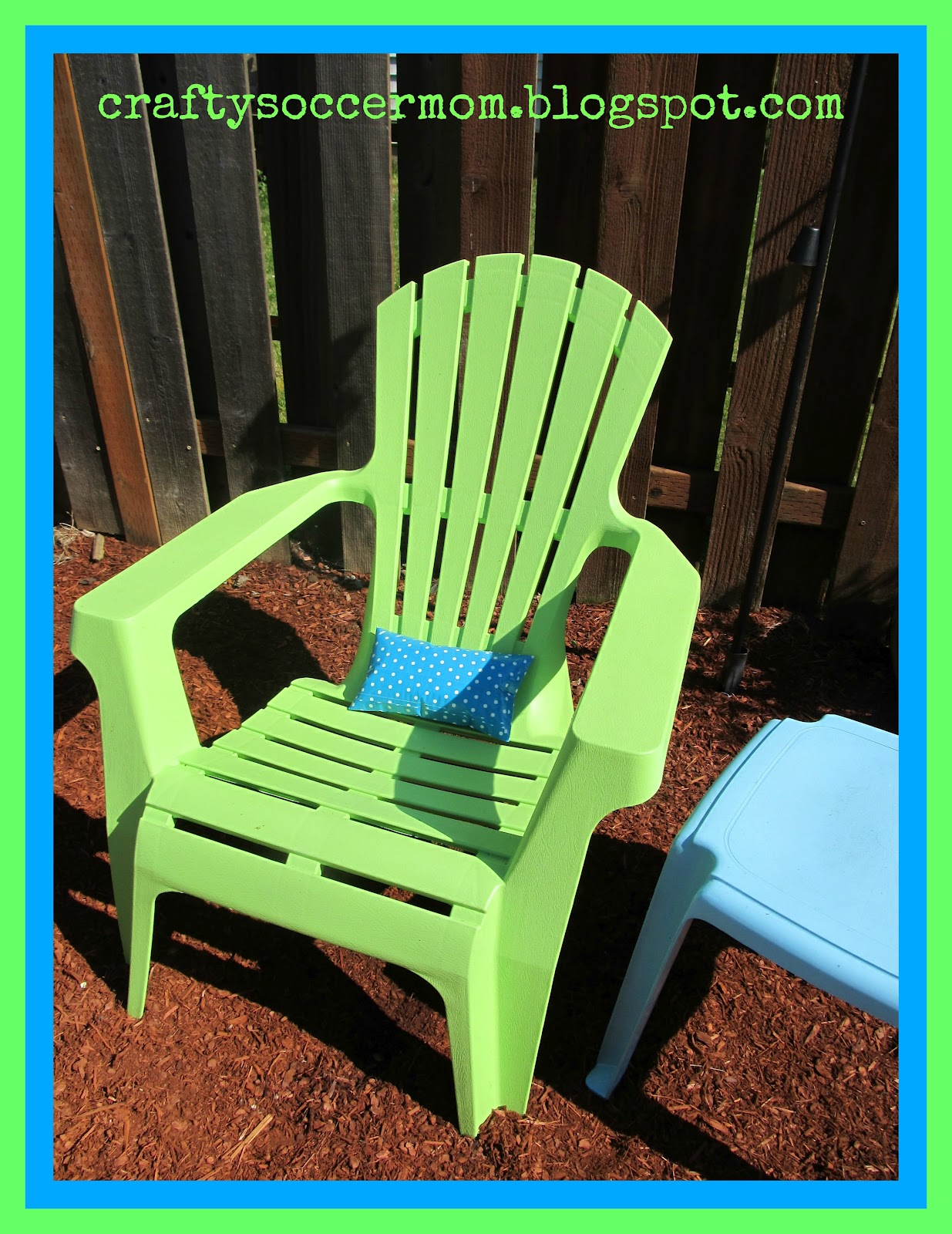 soccer mom covered chairs antique wicker rocking chair crafty outdoor duct tape pillow