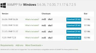 Penjelasan dan Cara Install Xampp di Windows