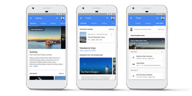 Como planear las vacaciones con el Uso de las Búsqueda de Google?