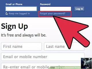 Cara Lupa Kata Sandi Password FB