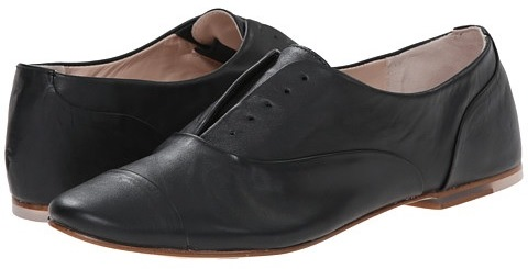 BLOCH Black Oxford Flats