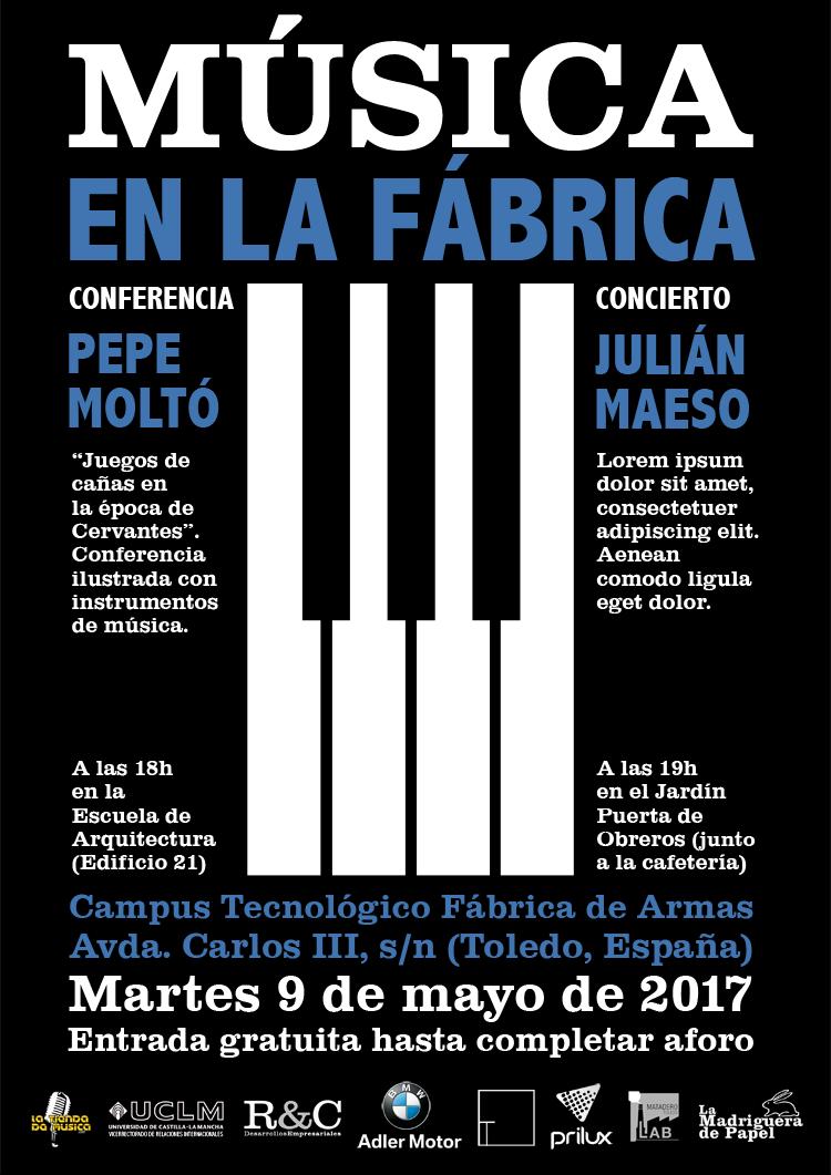 TOLEDO-LIBRERÍA-LA MADRIGUERA DE PAPEL-ACTIVIDADES-CONFERENCIA-CONCIERTO-MÚSICA