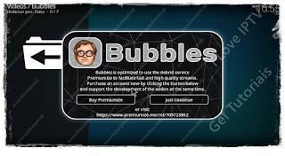 """Como Instalar Add-on """"Bubbles"""" no Kodi - Séries e Filmes de várias fontes no mundo"""