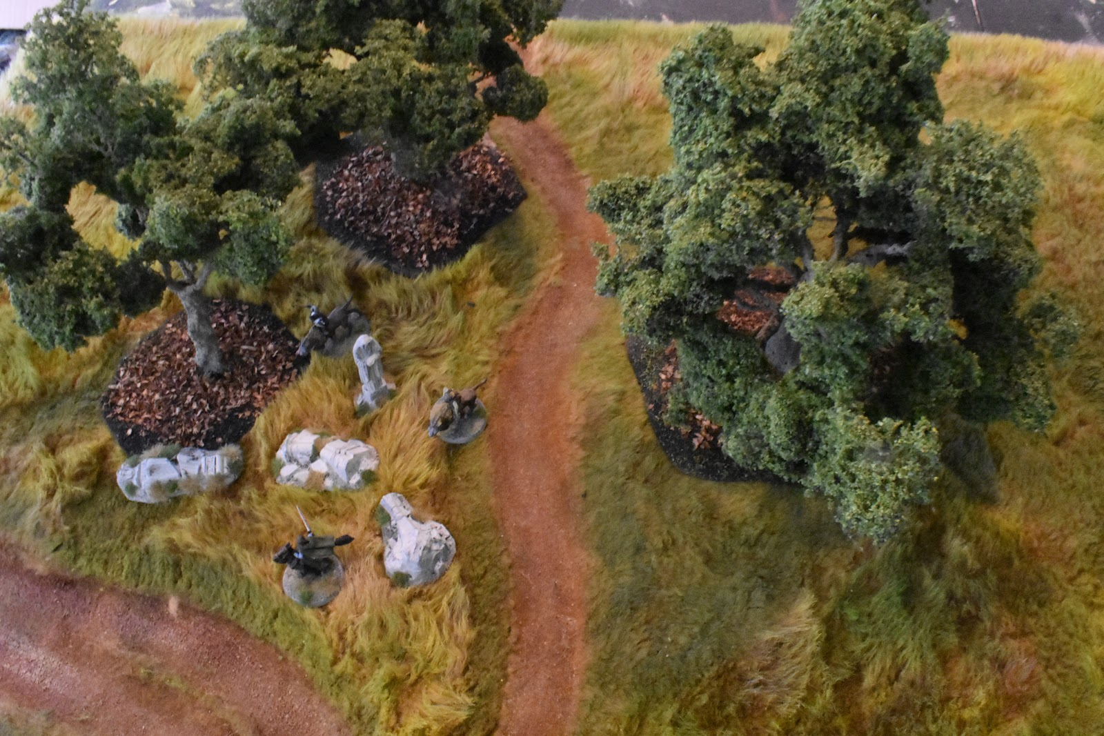 Miniature Wargaming with Spudnick: Terrain: Wire Trees for Lord of