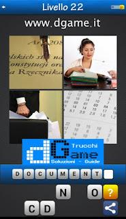 PACCHETTO 4 Soluzioni Trova la Parola - Foto Quiz soluzione livello 22