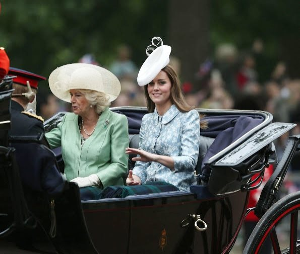 Catherine, Duchess Of Cambridge Attended Trooping The Colour 2015