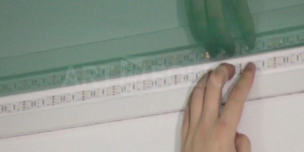 Инсталляция LED-ленты