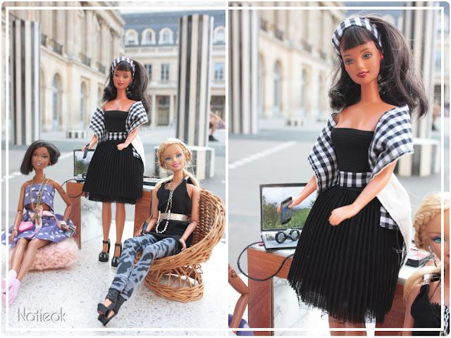 DIY Barbie geek aux colonnes de Buren Paris