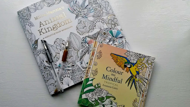 Animal Kingdom and Colour Me Mindful Tropical