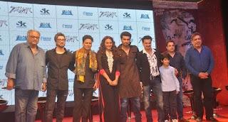 Arjun Kapoor & Sonakshi Sinha launch Tevar bollywood movie Trailer gallery.