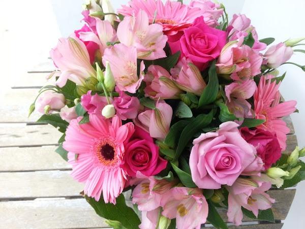 Quelques fleurs pour un grand événement....