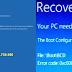 Cách sửa lỗi màn hình xanh Recovery khi khởi động Win