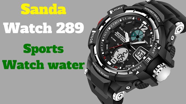 Sanda Watch 289,Military Sports Watch,water resistant 30M,top brands,watch sanda;289