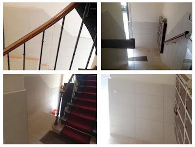 CHB BAT Rénovation Du Hall Dentrée Et De La Cage Descalier Dun - Carrelage d'escalier