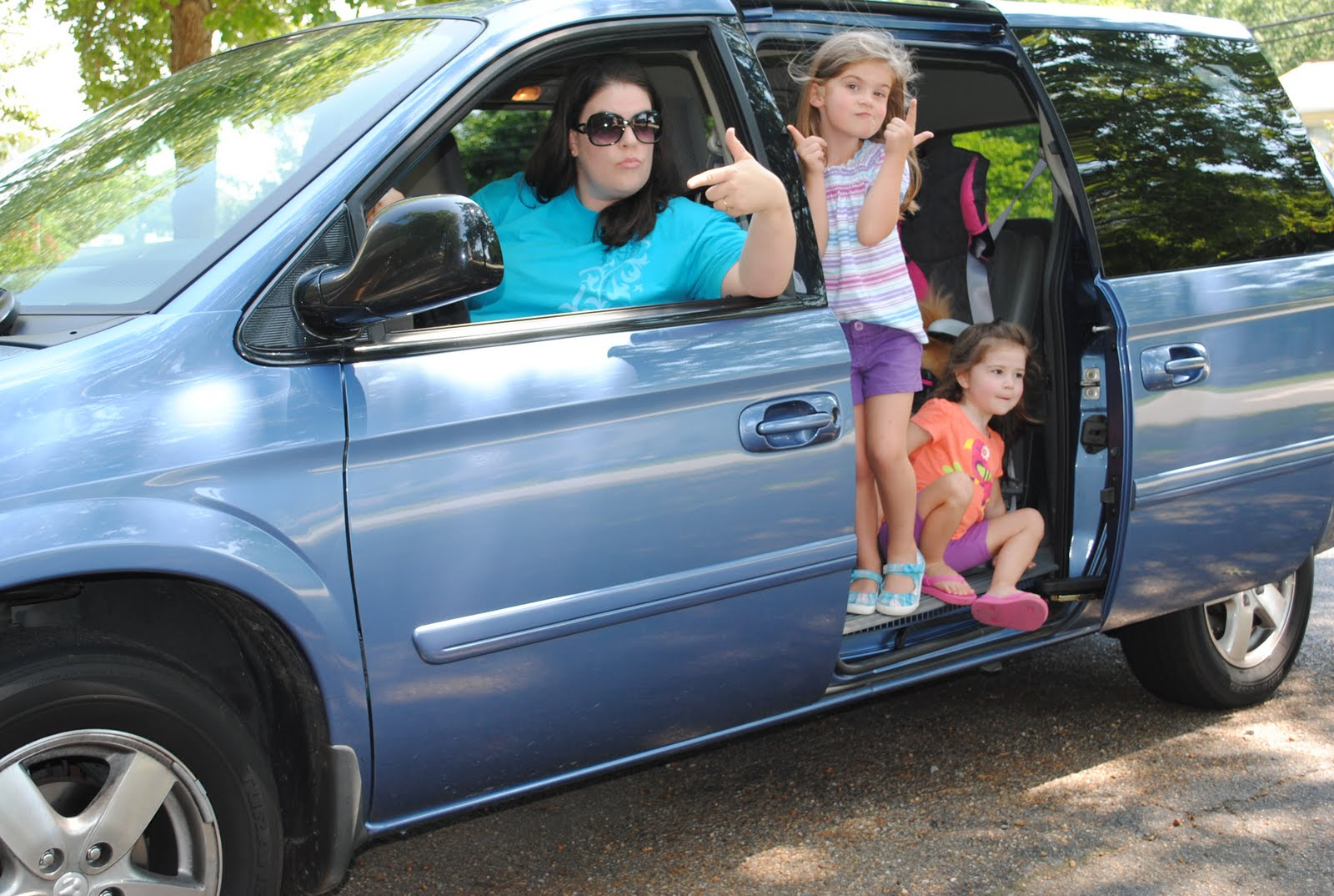 Funny mini van moms
