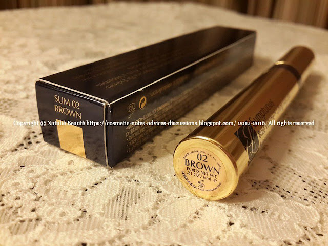 SUMPTUOUS Bold Volume Lifting Mascara by ESTEE LAUDER NATALIE BEAUTE REVIEW AND PHOTOS
