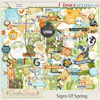 Signs Of Spring by Cornelia Designs