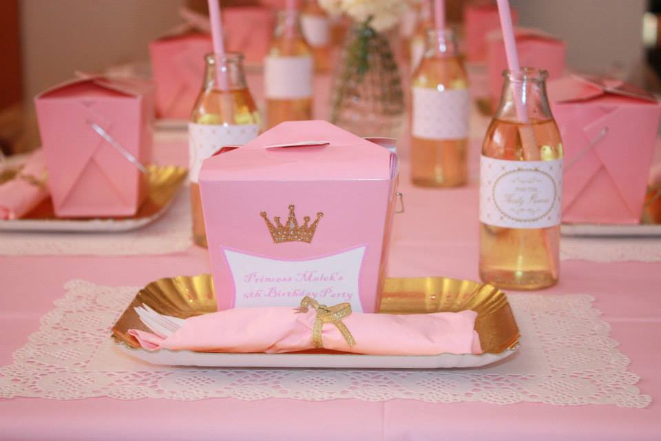 Little Big Company The Blog Gold And Pink Princess Themed