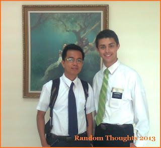 Elder Minson and Gilbor Jr.